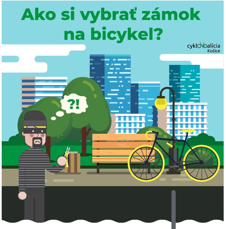 Ako si vybrať zámok na bicykel